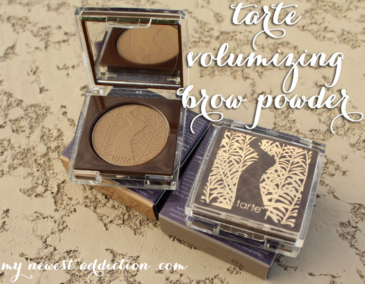tarte volumizing brow powder