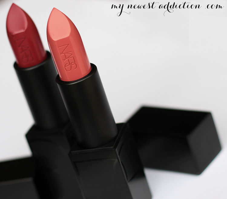 NARS Audacious Lipstick Collection in Audrey and Brigitte
