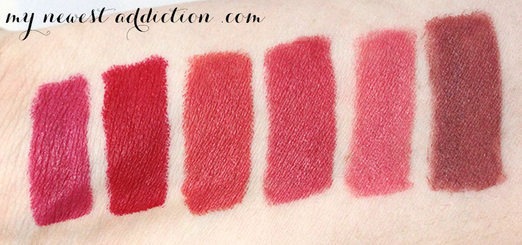 Bite Beauty Matte Creme Lip Crayon Swatches