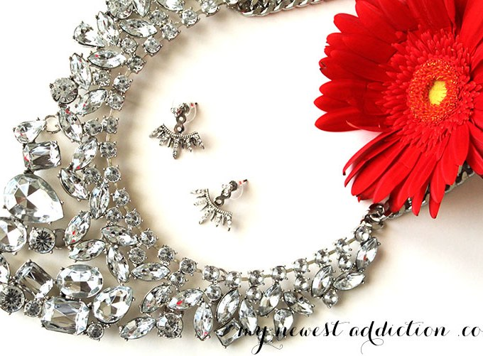 Baublebar Statement Necklace and Awesome Earrings