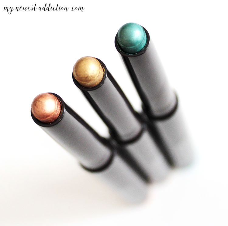 Laura Mercier Cavaiar Sticks | These three shades are the perfect colors for creating holiday makeup looks!