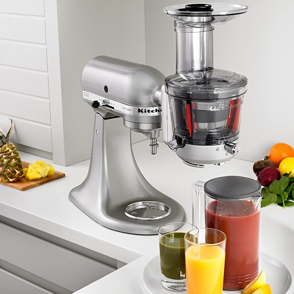 Kitchenaid Ksm1ja Masticating Juicer Attachment Review : Top 10 best masticating juicers reviews