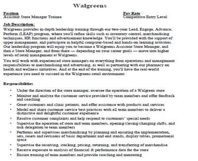 Walgreens Resume Professional Walgreens Service Clerk Resume - walgreens resume paper