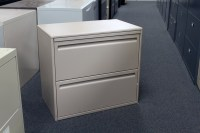 Used Haworth File Cabinet - 2 Drawer Lateral File