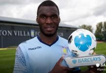 christian benteke wins player of the month