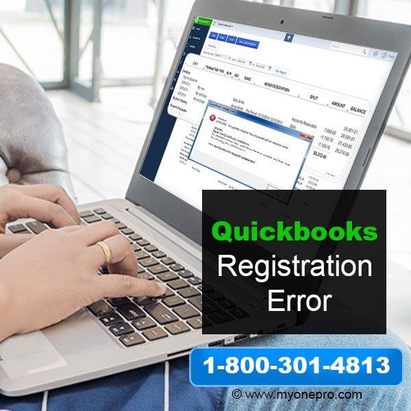 QuickBooks Registration Error - Problem Register or Activate QB Desktop