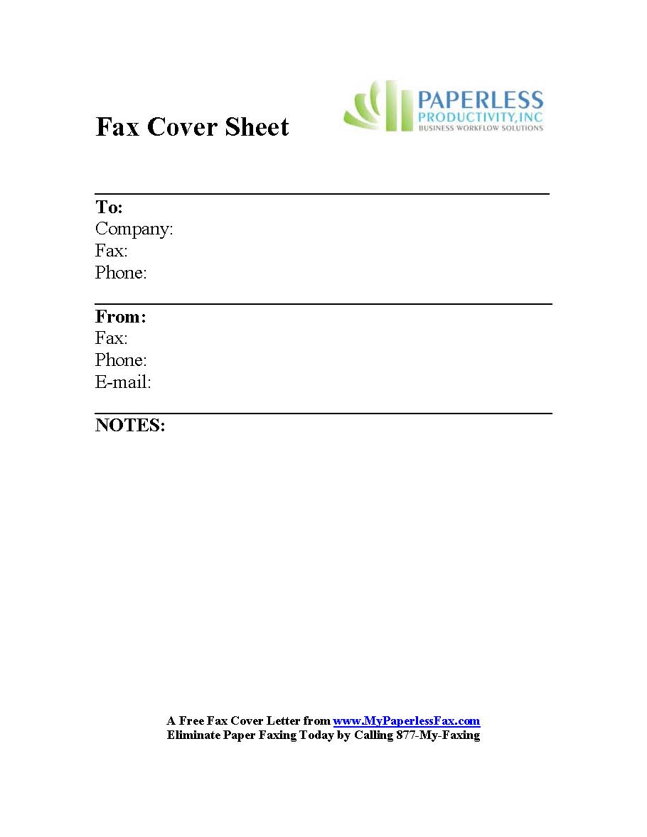 Doc432561 Blank Fax Cover Sheet Template Free Fax Cover Sheet – Professional Fax Cover Sheet Template