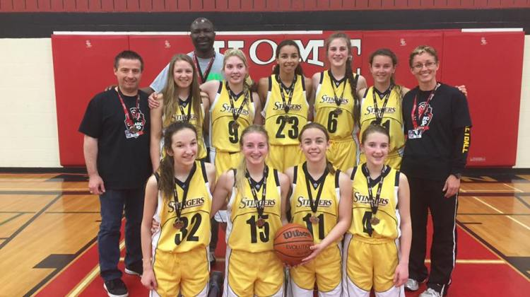 Photo Credit - Kim McIntyre Kane, posted to Parry Sound Stingers Basketball Club Facebook Page