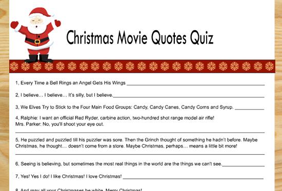 20+ Free Printable Christmas Games