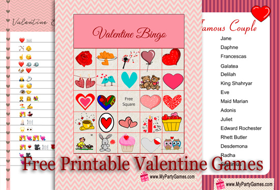 Free Printable Party Games