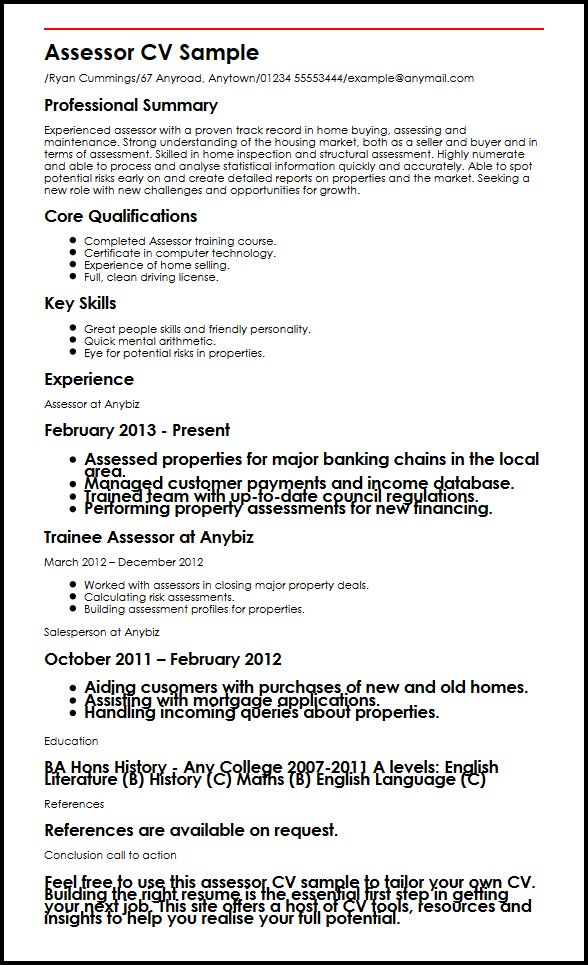 examples of cv uk download