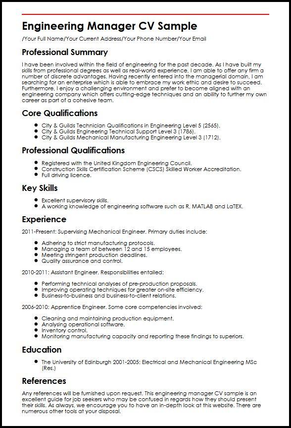 competencies examples for cv