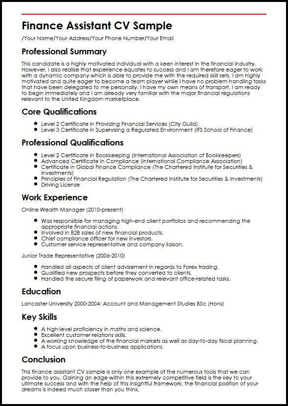 office assitant resume example