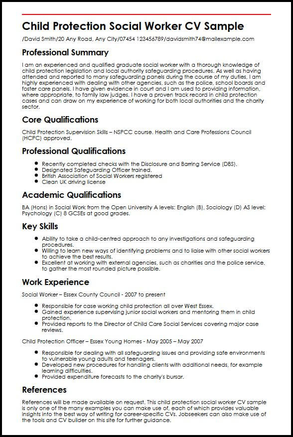 personal statement security officer resume