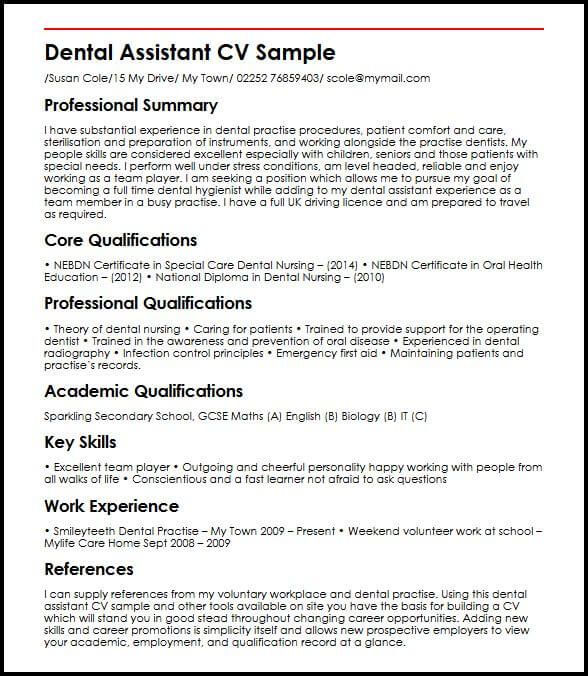 examples of education section on resume