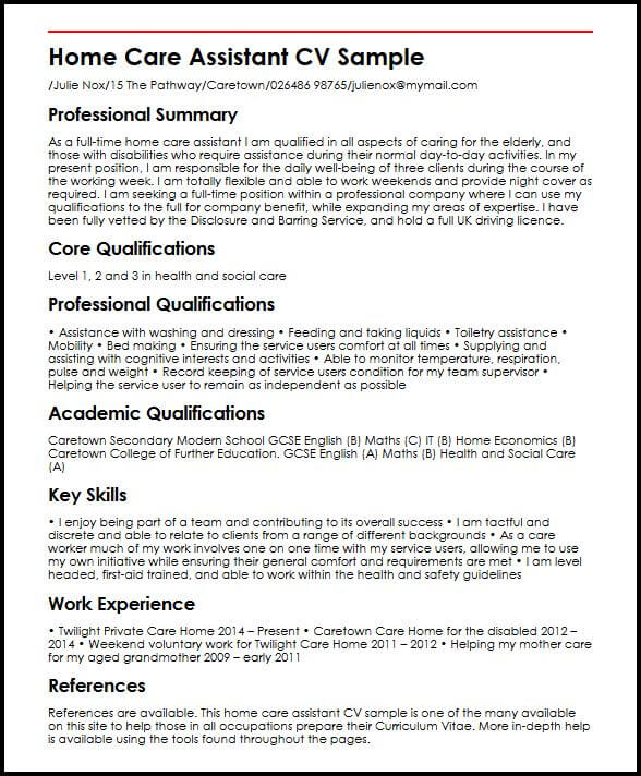 blm resume example