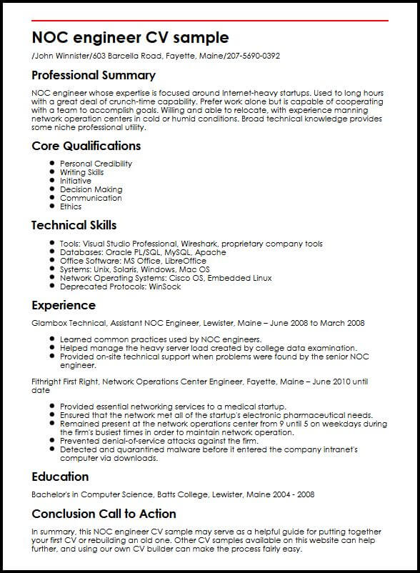 cv template data science student