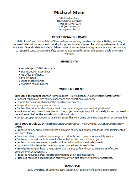summary of qualifications resume examples