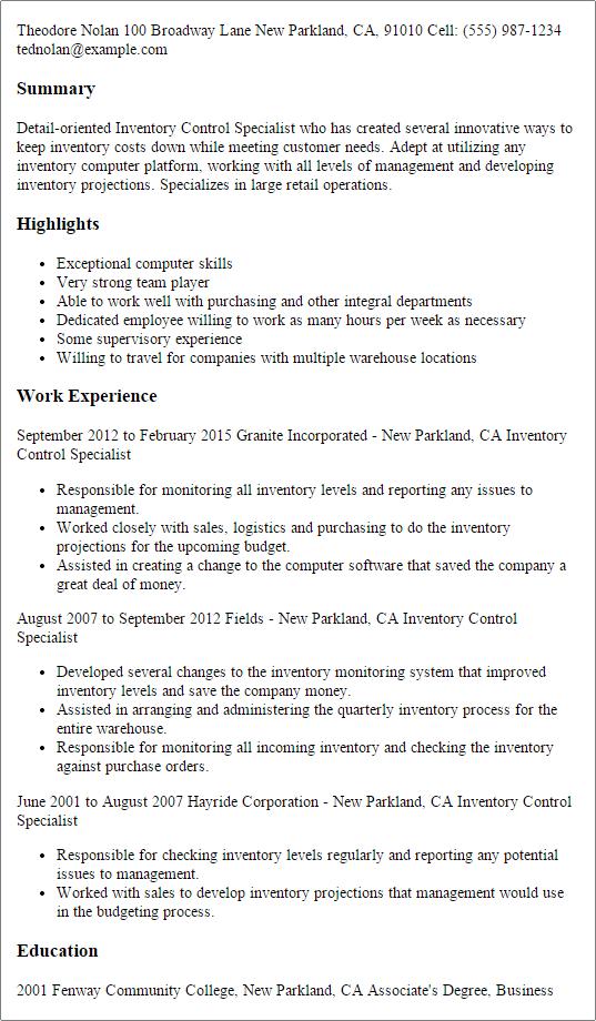 best finance resume samples