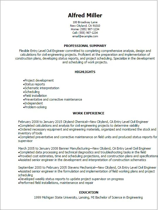 professional summary in resume for quality engineer