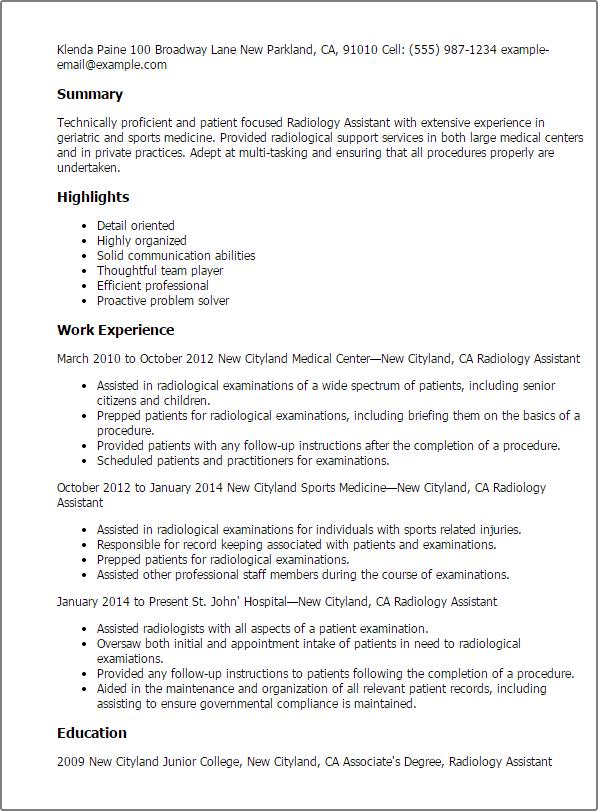 example of senior citizen resume