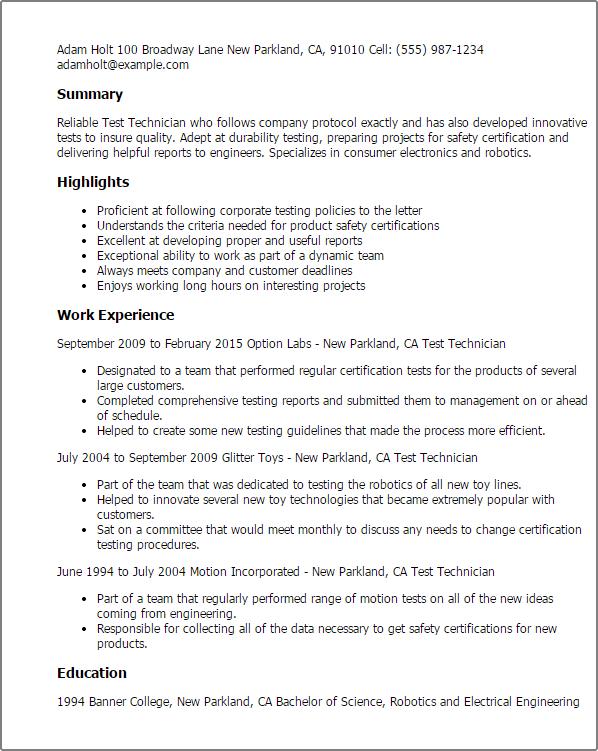 resume key highlights