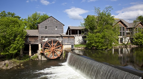 Smoky Mountains Fall Wallpaper Tour The Historic Old Mill Pigeon Forge Tn