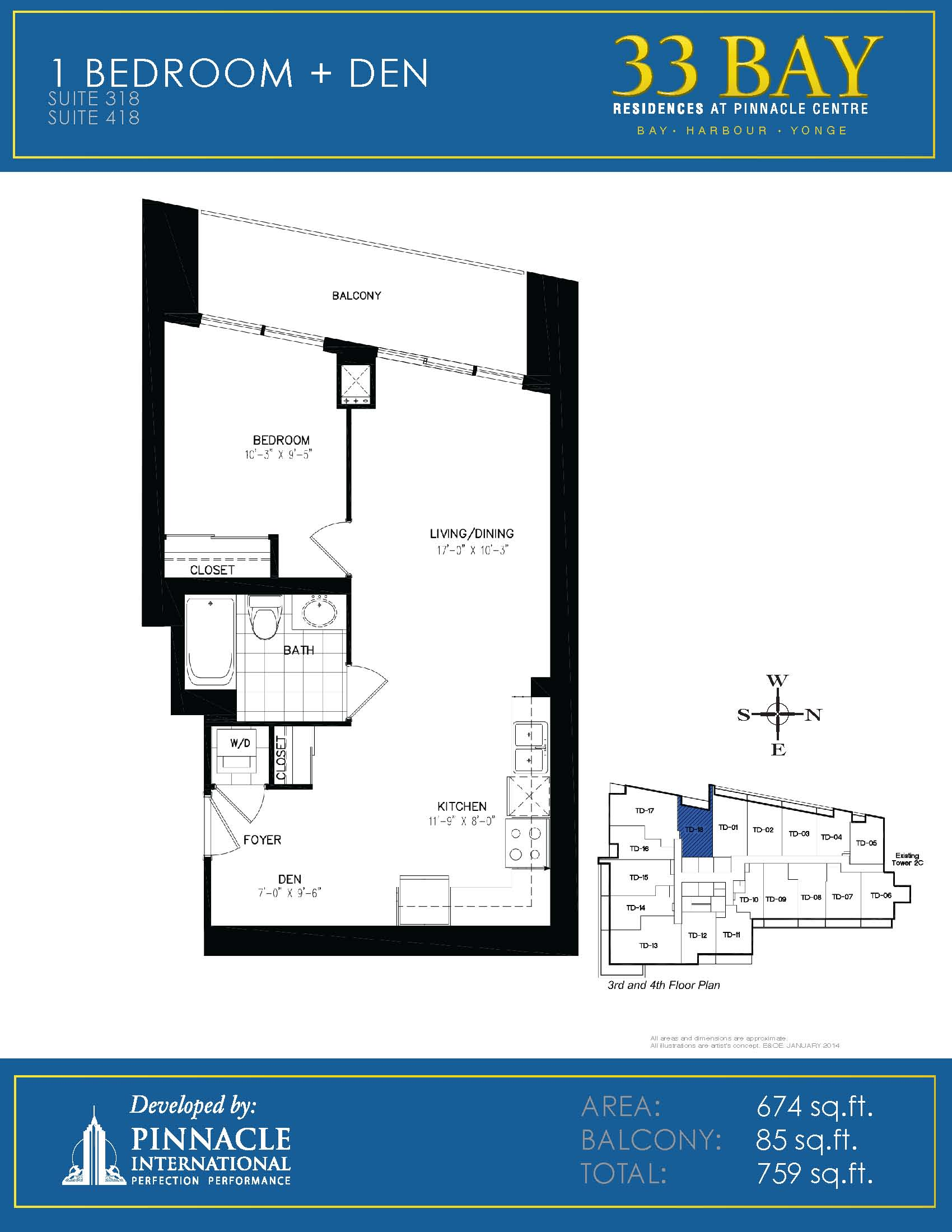 Floor plans for 33 bay residences pinnacle centre at 12 for 12 yonge st floor plan
