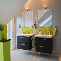 Badezimmer Design-Ideen - Acrylglas-Druck-Beispiel ...