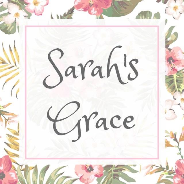 FOUNDER OF SARAH'S GRACE: HOPE + HEALING