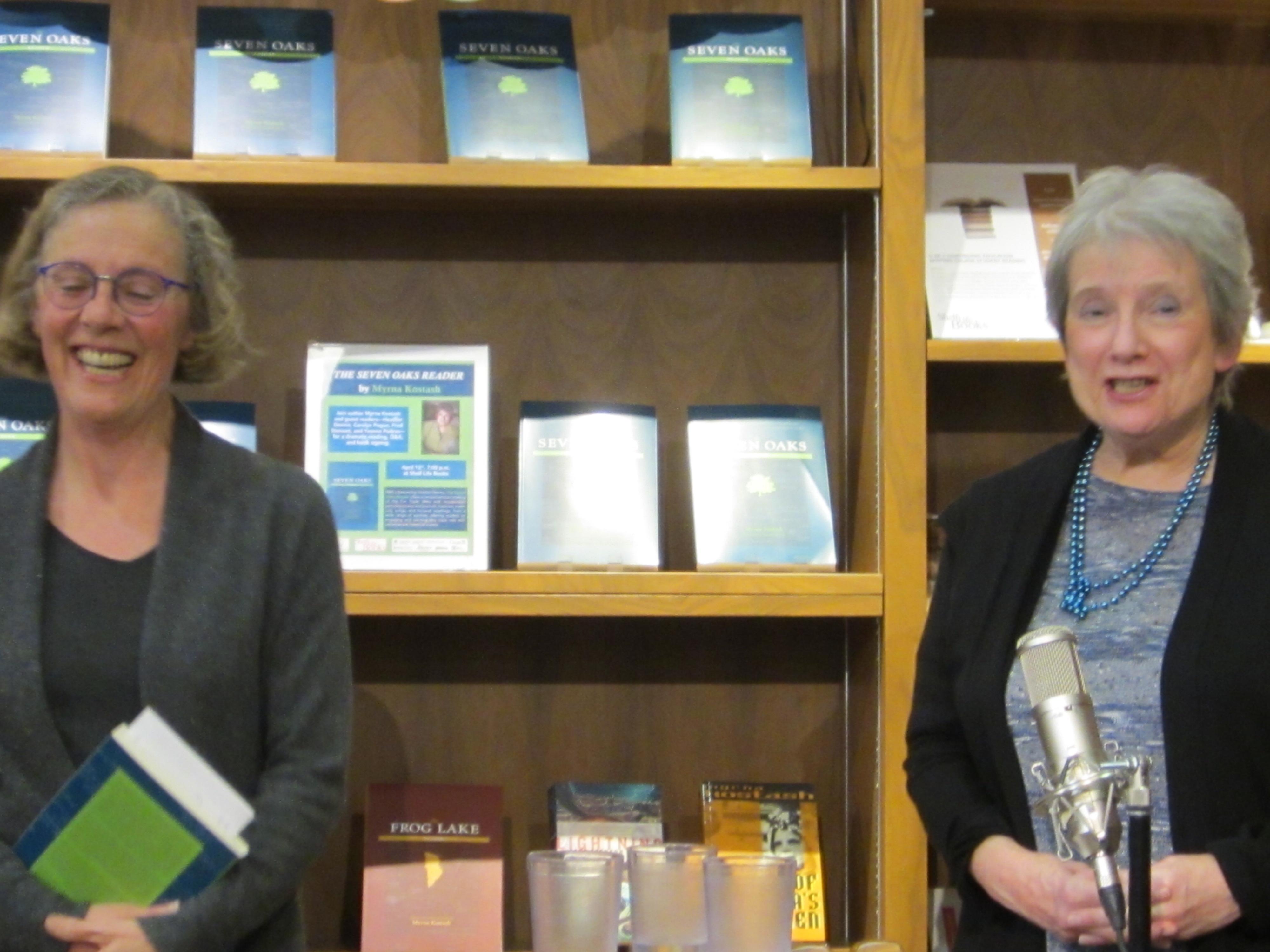Calgary Joann Mccaig Shelf Life Bookstore Myrna
