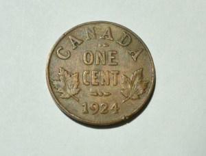 Canada 1924 Penny