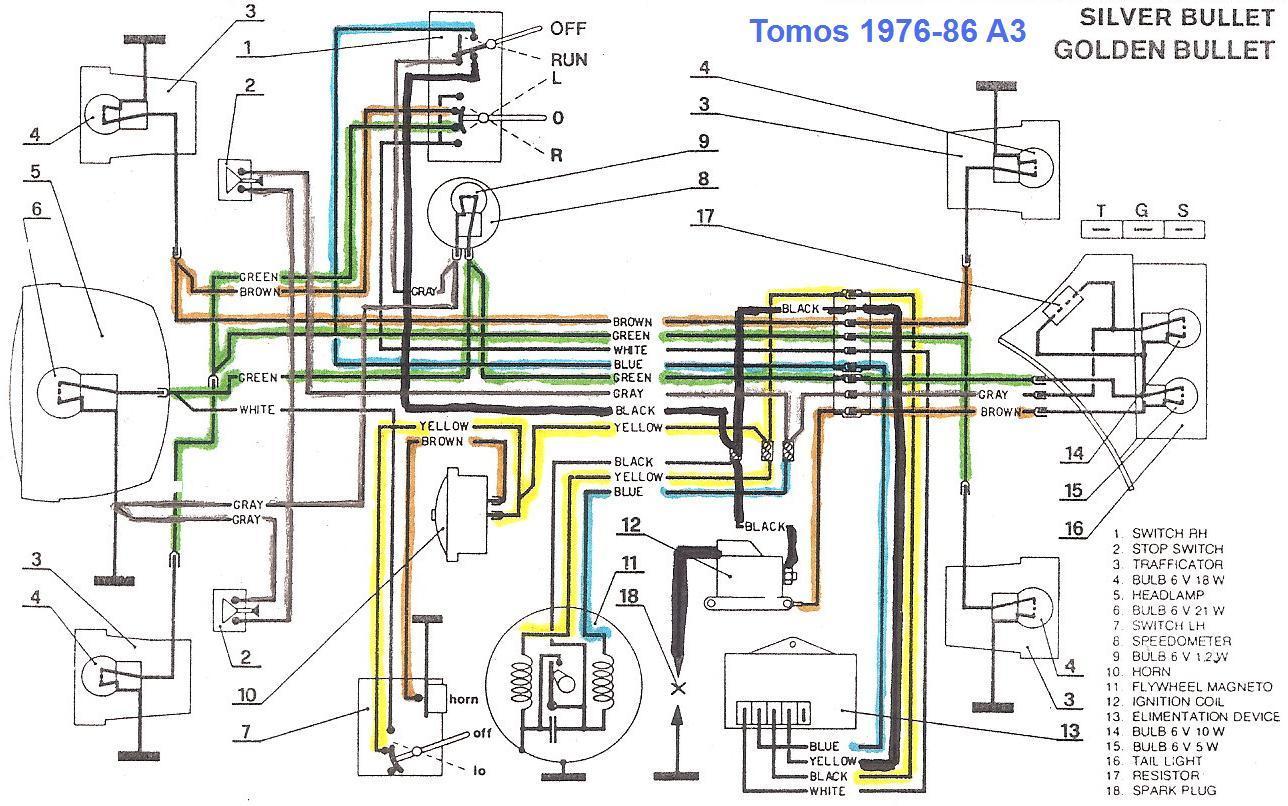 tomos moped wiring diagram