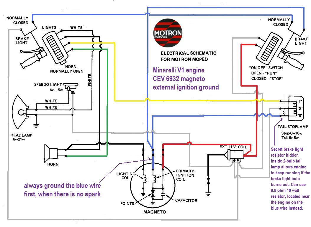 Diagram  Casatronic Ignition Lambretta Wiring Diagrams