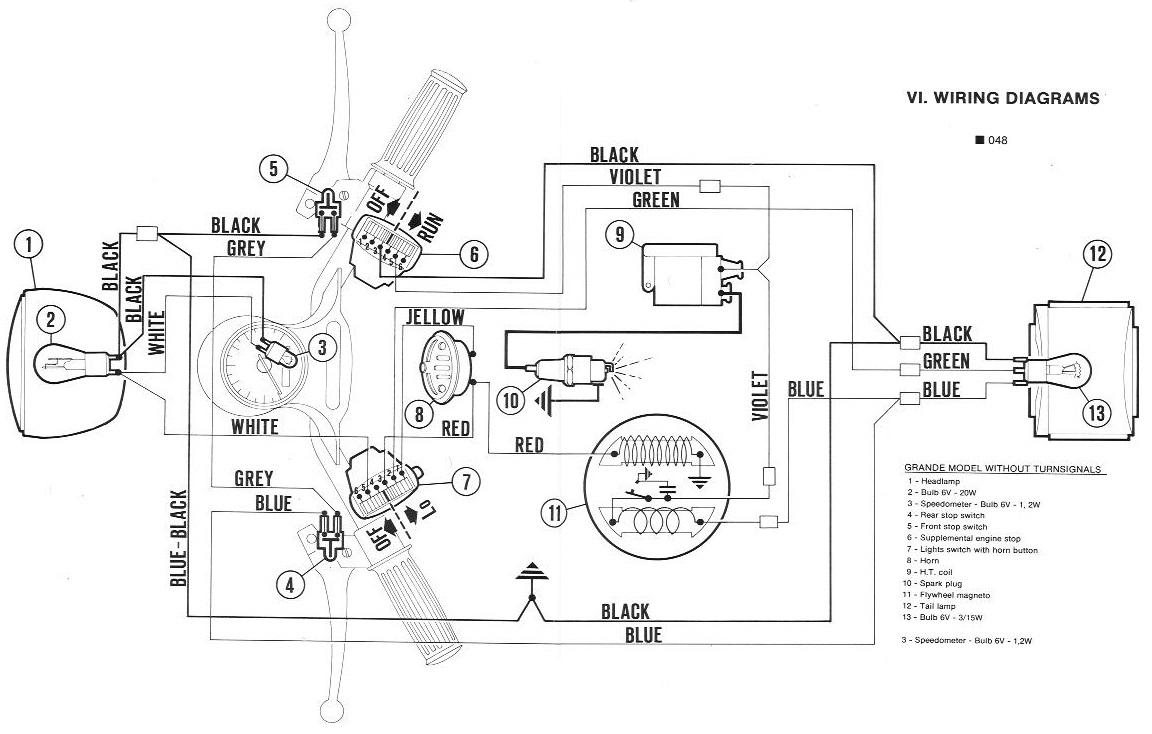 Pleasant Vespa Vbb Wiring Diagram Basic Electronics Wiring Diagram Wiring 101 Nizathateforg