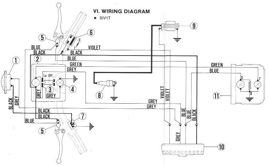1979 vespa px200 fuse box