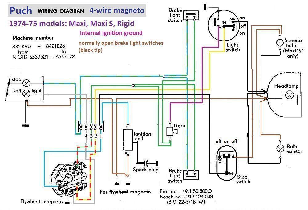 Wiring Diagram Puch Newport Wiring Diagram