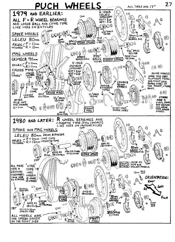 Yamaha Xs Wiring Diagram Service 171 Myrons Mopeds