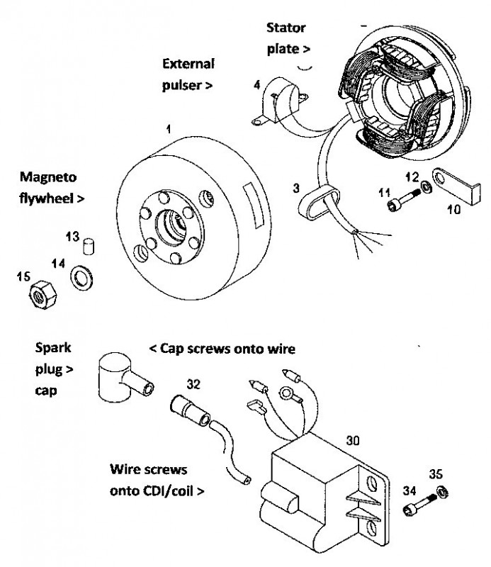 Small Engine Magneto Wiring Diagram Electronic Schematics collections
