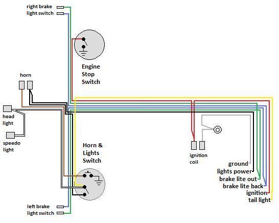 Wiring « Myrons Mopeds