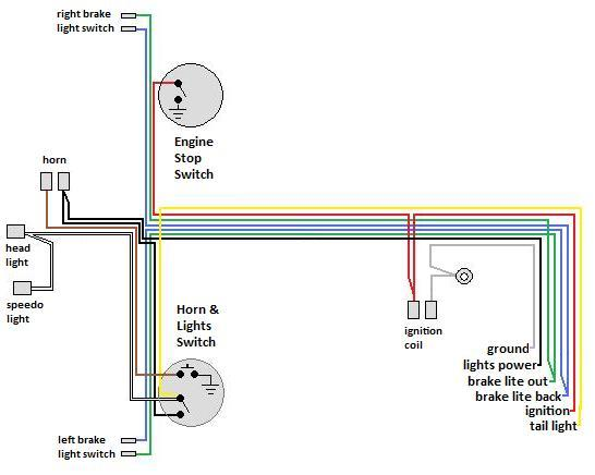 wiring diagram for universal ignition switch