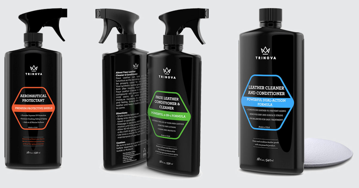 Free TriNova Home, Automotive  Leather Cleaning Products - Free