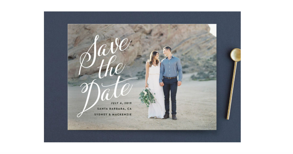 FREE Save The Date Sample Kit from Minted - Free Product Samples