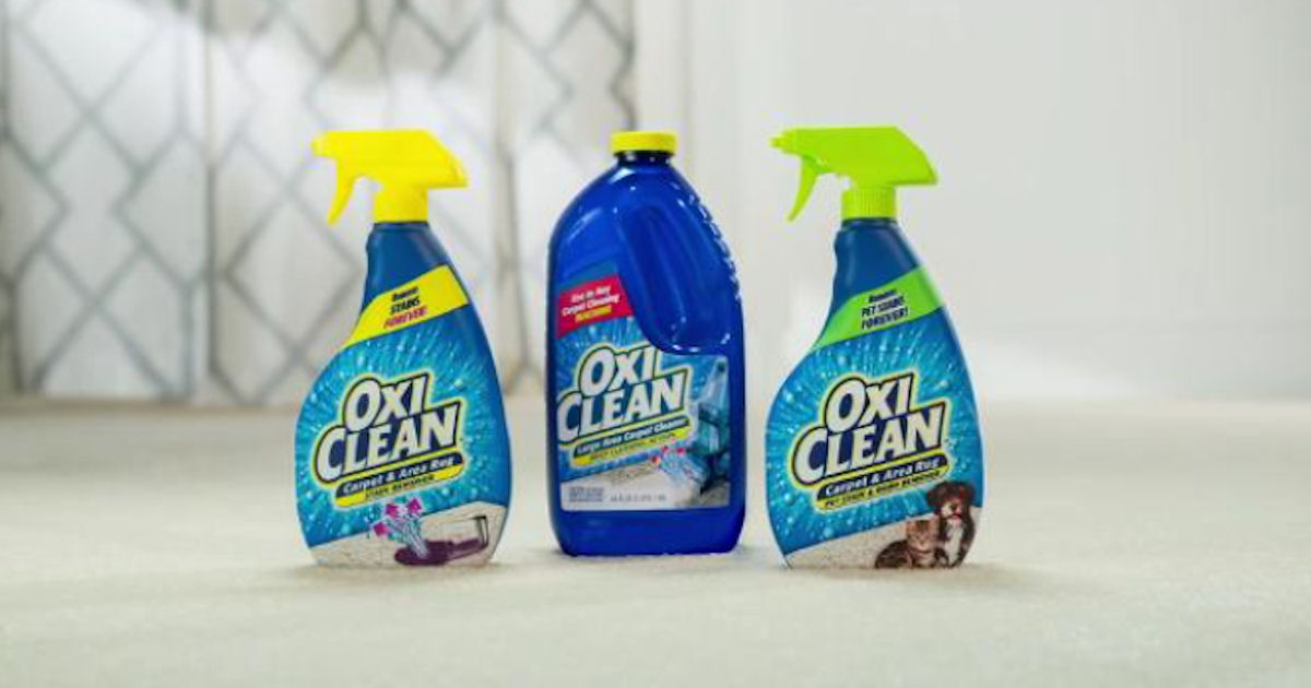 Free Oxi-Clean Carpet  Area Rug Pet Stain  Odor Remover - Free - free samples of cleaning products