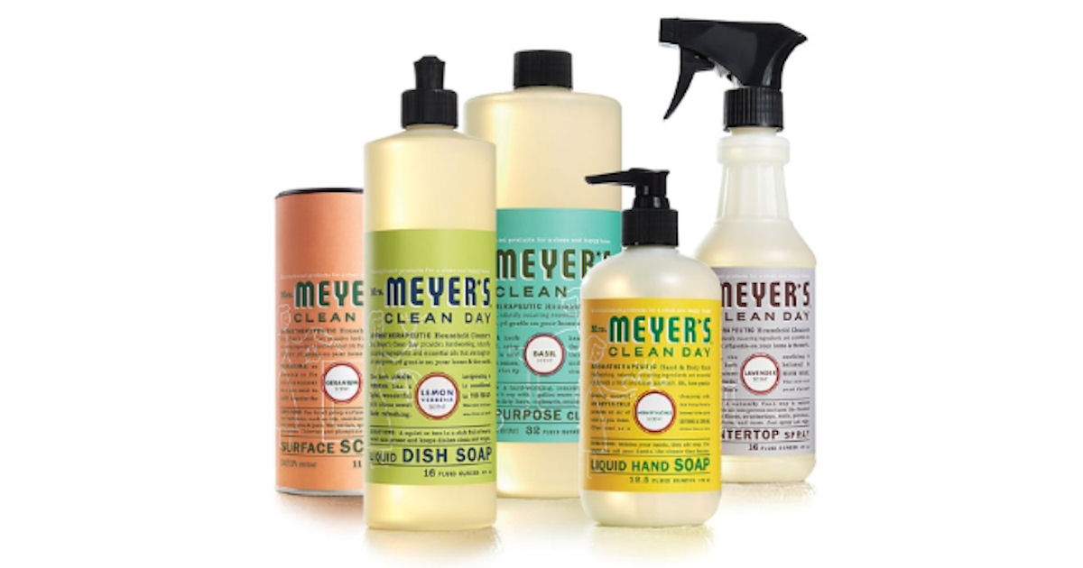 TopCashback - Free Mrs Meyer\u0027s Spring Cleaning Bundle - Free - free samples of cleaning products