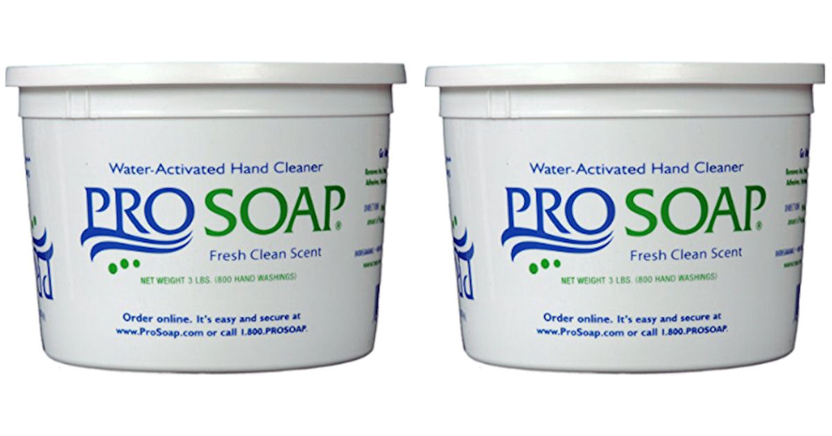 Free Sample of ProSoap Water-Activated Hand Cleaner - Free Product