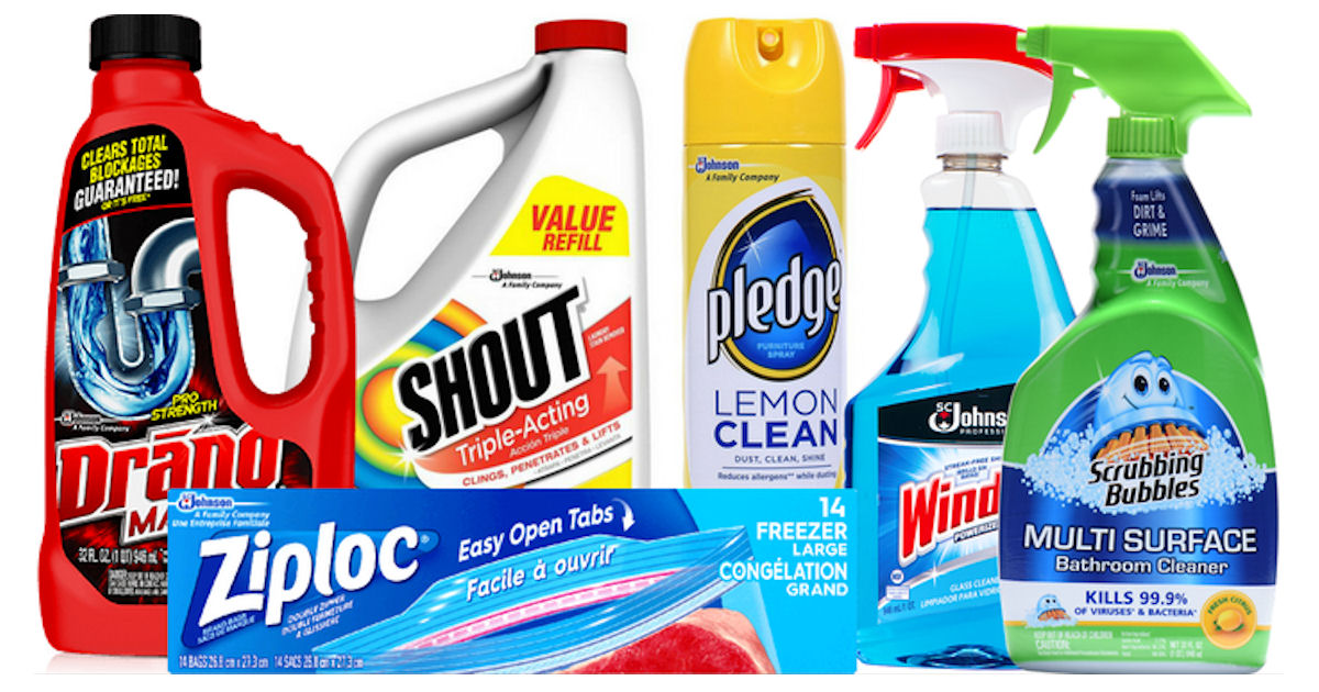 Free SC Johnson Cleaning Product - Free Product Samples