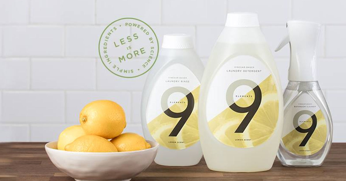 Free 9 Elements Eco-Friendly Cleaning Products - Free Product Samples