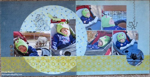 At the Zoo Layout by Wendy Kessler