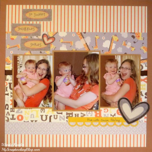 Babycakes Layout by Wendy Kessler